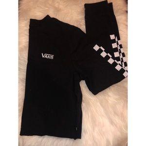 Vans Checkered Crop Top Shirt Surf Shop